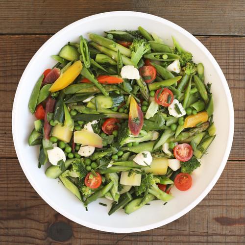 Beautiful Seasonal Vegetable Salad