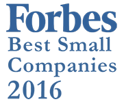 Forbes Best Small Companies 2016 Logo