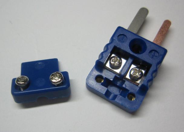 Miniature Mini T-Type Thermocouple Connector Plug Male