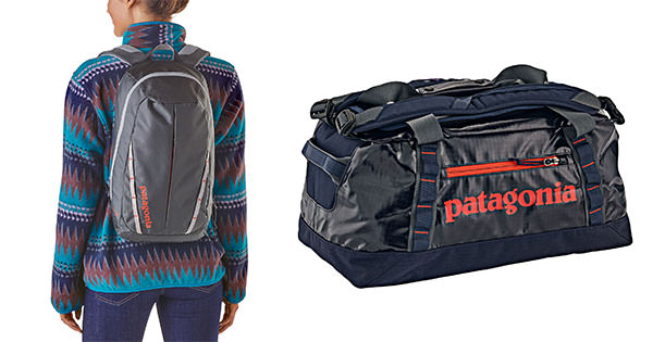 Patagonia Backpacks and Duffle bags