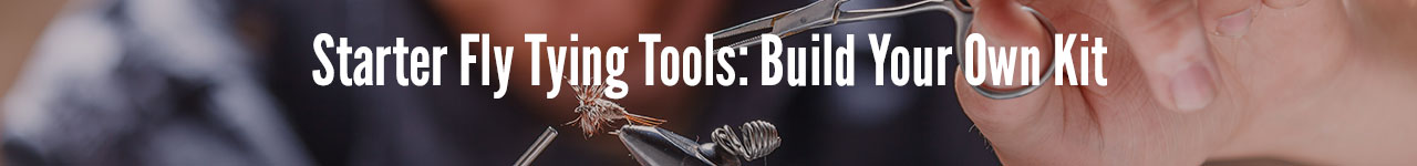 Starter fly tying tools