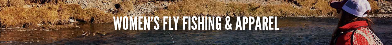 Women's fly fishing and apparel