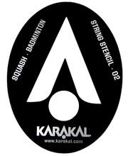 Karakal Squash / Badminton Stencil