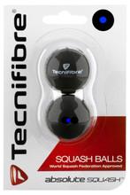 Tecnifibre Blue Dot Squash Balls 2 Pack