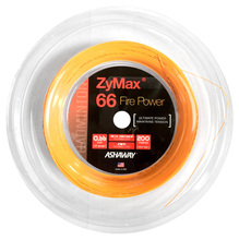 Ashaway Zymax 66 Fire Power 0.66mm Badminton 200M Reel