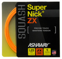 Ashaway SuperNick ZX 17 1.25mm Squash Set
