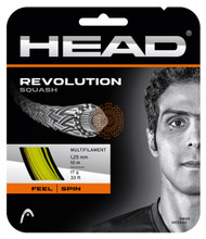 Head Revolution 17 1.25mm Squash Set