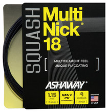 Ashaway MultiNick 18 1.15mm Squash Set