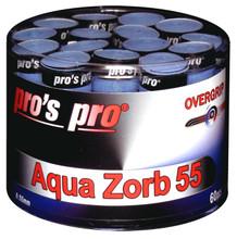 Pro's Pro Aqua Zorb 55 Overgrip 60 Pack