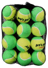 Pro's Pro Stage 1 Green Junior Tennis Balls Dozen