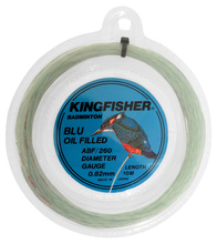 Gosen Kingfisher Blu Oil 0.88mm Badminton Set