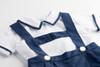 2-Piece Suspender Short Set