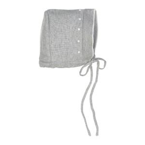 Dot Knit Bonnet