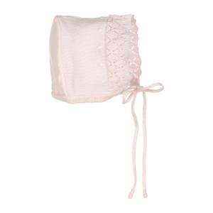 Dot Diamond Knit Bonnet