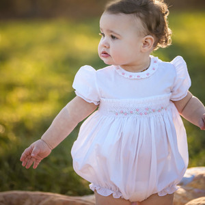 Rose Garden Collection Smocked Bubble