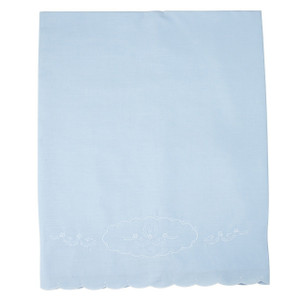 Boys Embroidered Receiving Blanket