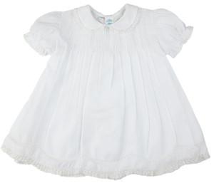 Collared Lace Slip Dress