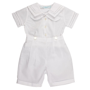 Dressy Sailor 2 Piece Bobby Suit