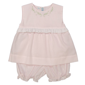 Sleeveless 2-Piece Bloomer Set