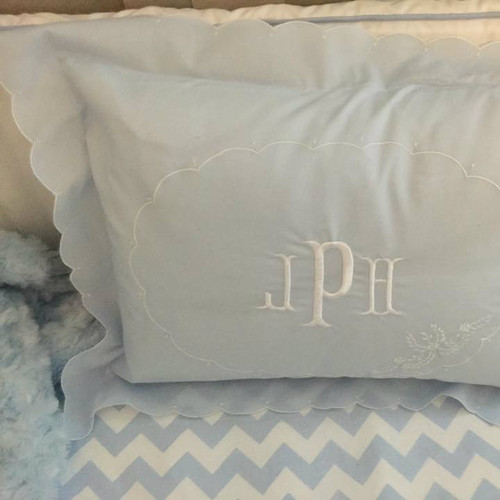 Boys Embroidered Pillow Case