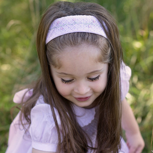 Rose Garden Collection Smocked Hairband