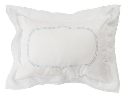 Boys Blue Leaf Pillow Case