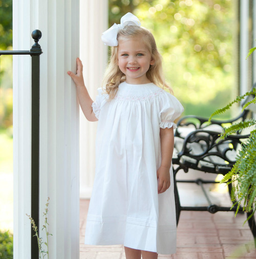 Ruffle Sleeve Bishop Dress
