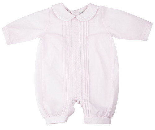 Girls Preemie Romper With Dots