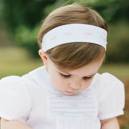 Floral Bullion Pearl Hairband