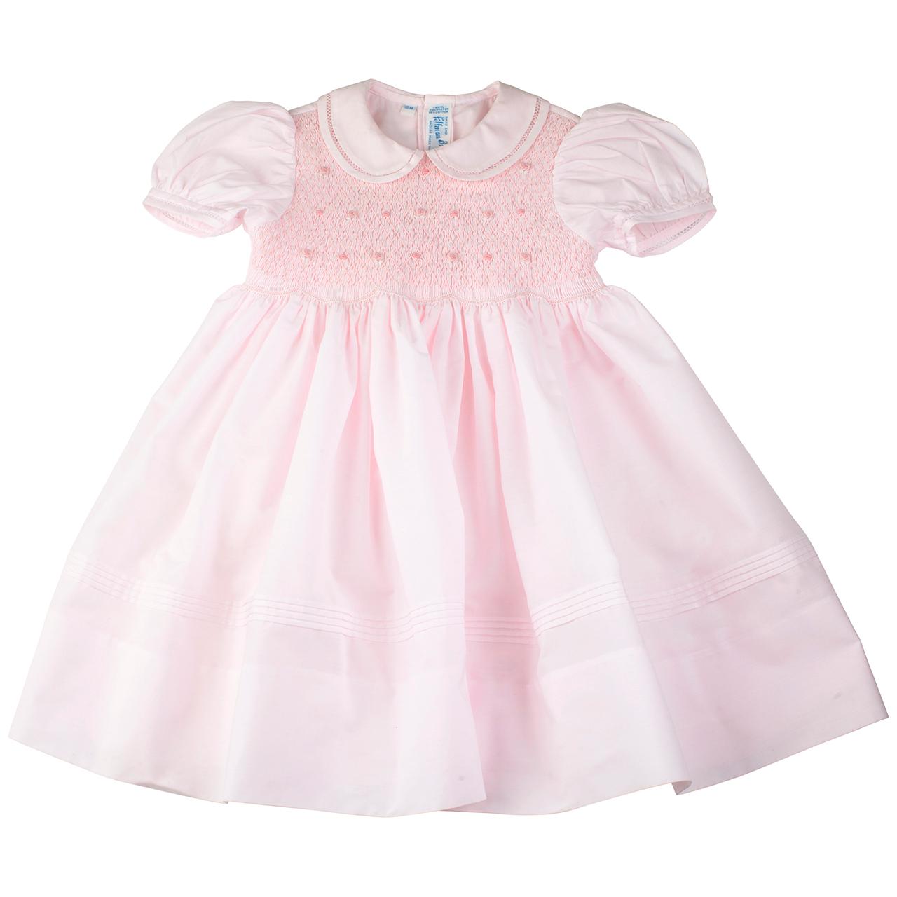 Smocked Rosebud Dress | Feltman Brothers