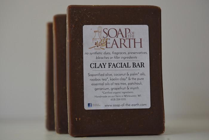 Clay Facial Bar