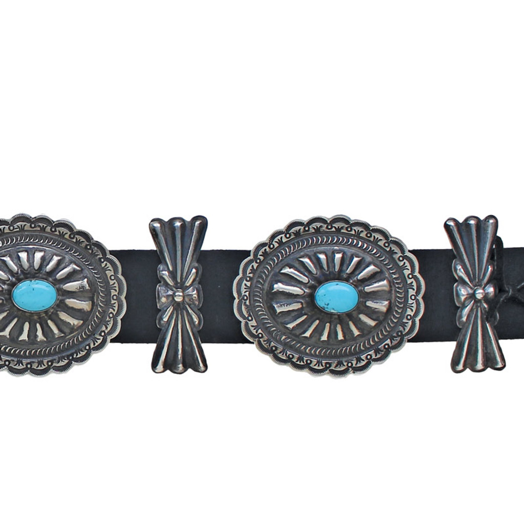 Silver Concho Belt
