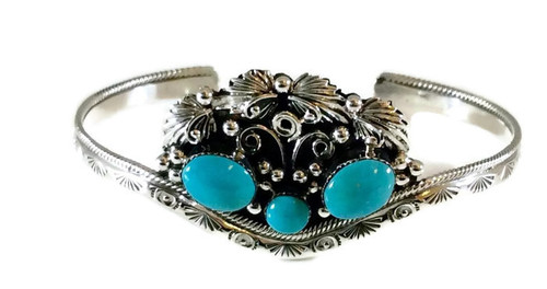 3-stone Turquoise