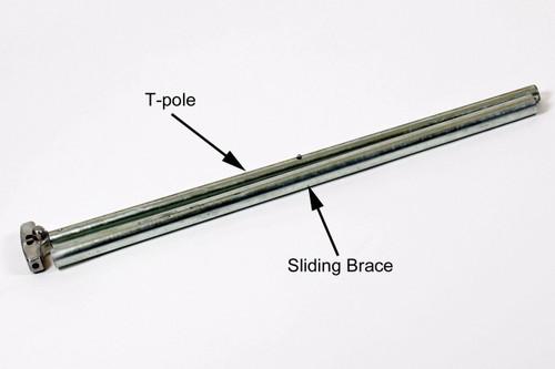 Sliding Brace for T, 9 x 8