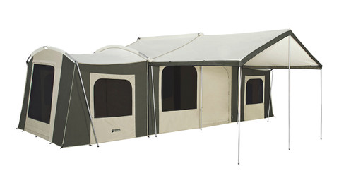 26 X 8 Ft Grand Cabin With Awning Kodiak Canvas
