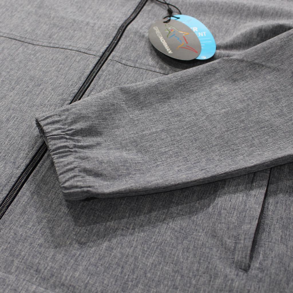 Full-Zip Windbreaker Stretch Jacket