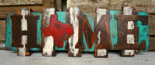Home is Texas Wall art