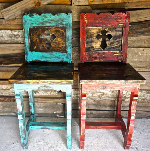 Cross Bar Stools Sofia S Rustic Furniture