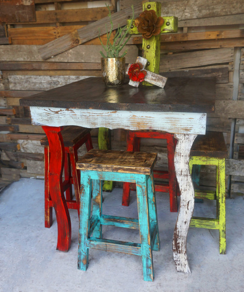 Catalina Bar Table Stool Set Sofia S Rustic Furniture