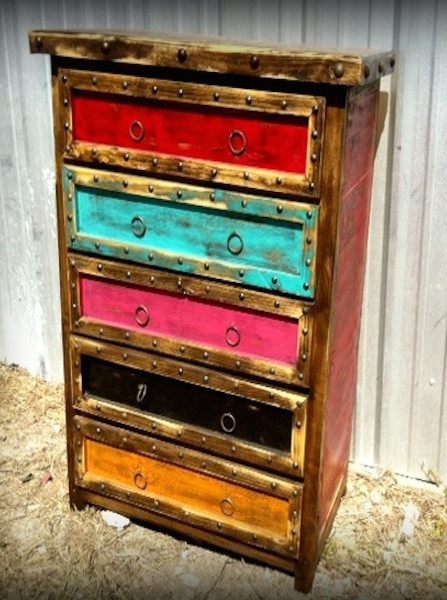 Colorido Rustic Dresser Sofia S Rustic Furniture