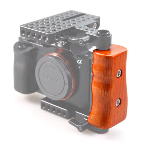 SmallRig Wooden Handle(Left Side) for DSLR Cage 1738