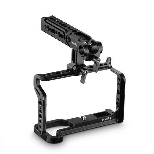 SmallRig Fujifilm X-H1 Cage with Nato Top Handle 2135