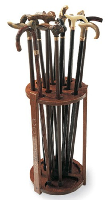 Lodge Walking Cane Display Rack