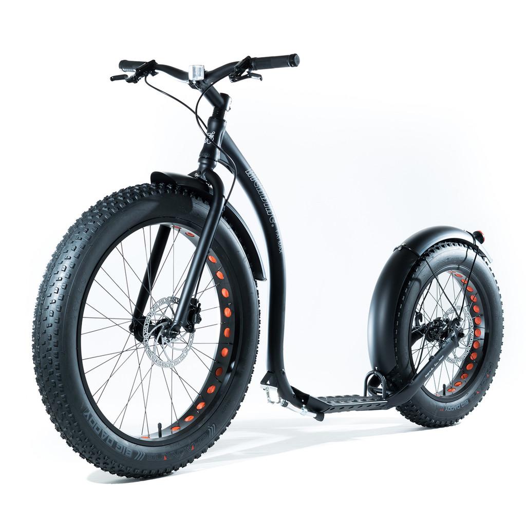 Fat Max Scooter Black