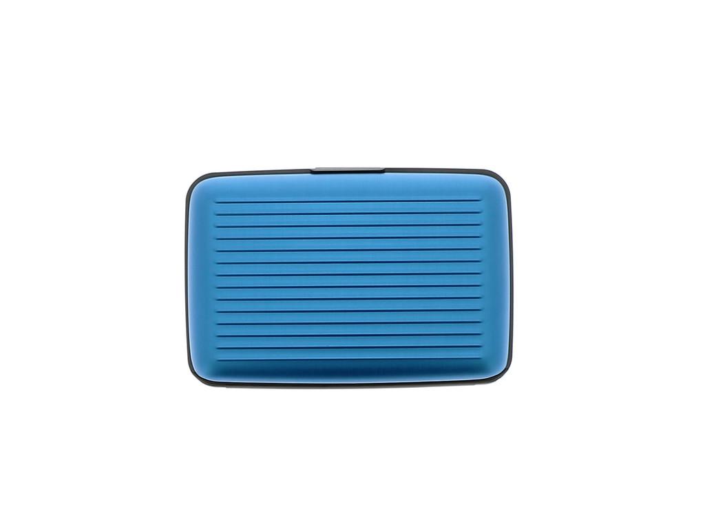 Case Blue RFID Safe Wallet