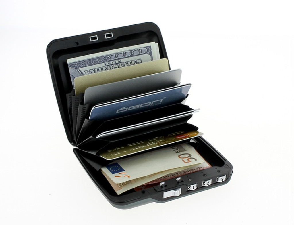 Mini Safe Wallet - Silver