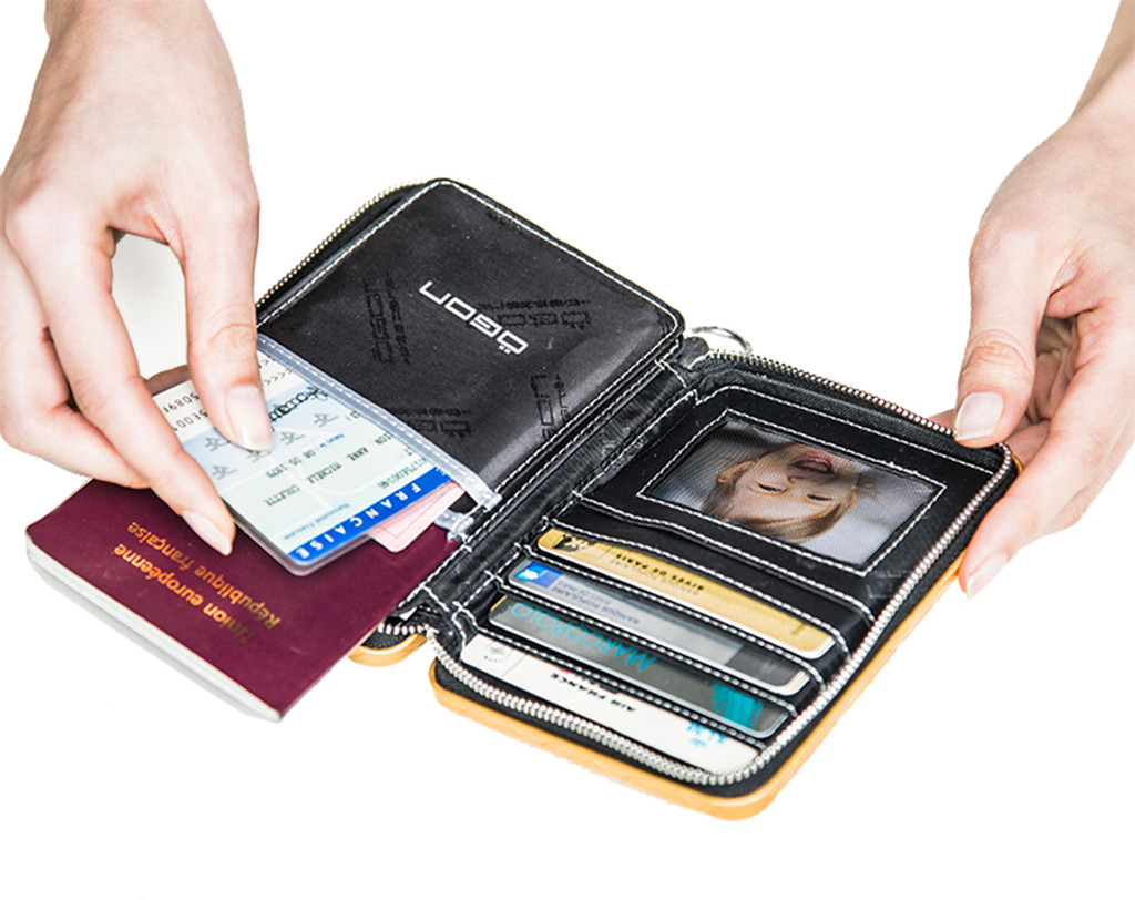 Passport Wallet - Platinum
