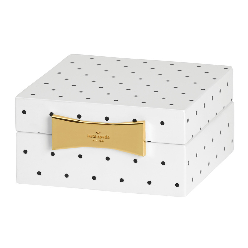 Garden Drive - Dotted Jewellery Box Square