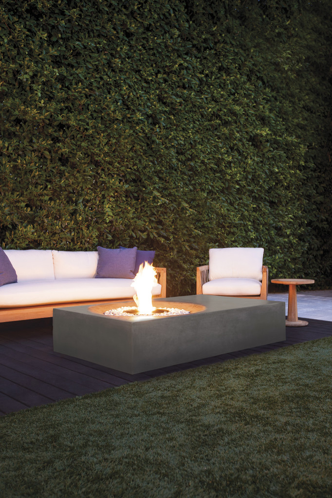 Equinox Fire table Graphite