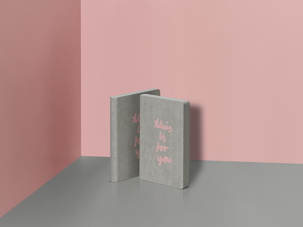 Graphic - Pink and Grey